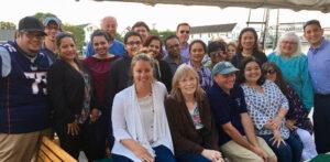 The Whaler's Inn Team on the Mystic River Sunset Cruise