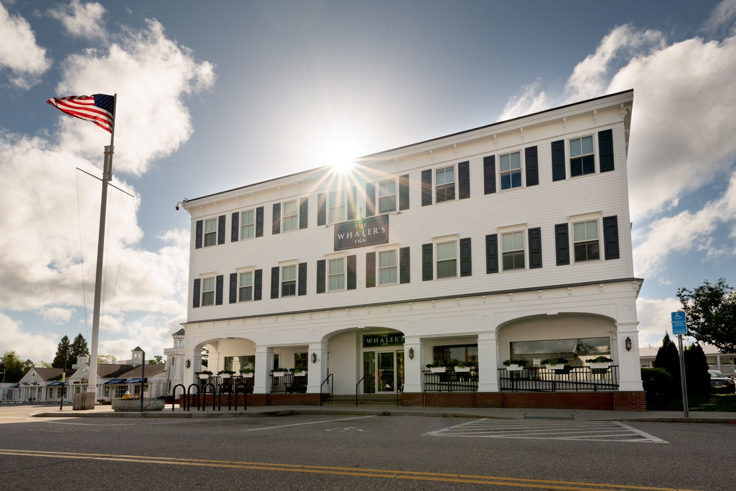 The Whaler's Inn building featured in Yolo Journal