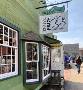 Storefront of Kelly's Pace at Olde Mistick Village