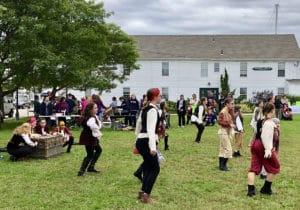 Dancers at the Mystic Pirate Invasion