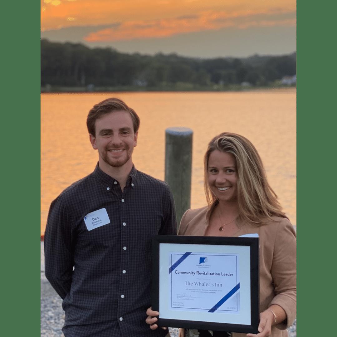 Community Revitalization Award Given to The Whaler's Inn